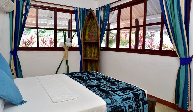 Finca La Jorara habitacion doble standard arhuaco cerca a Palomino