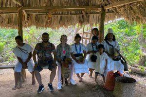 Taller mochilas experiencias indigenas arhuaco kogui